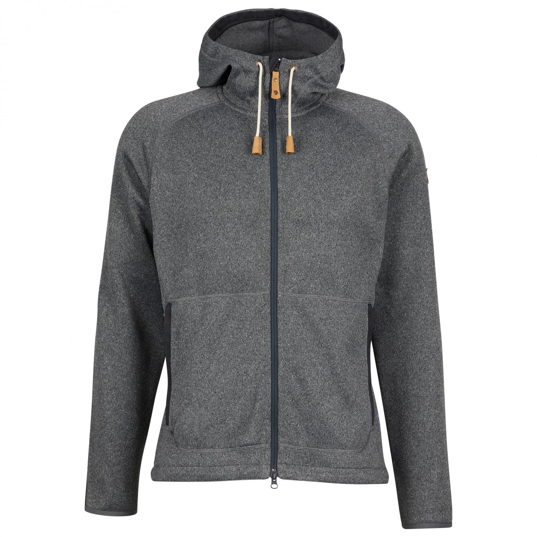 Fjällräven Övik Fleece Hoodie - Fleece Jacket Men's | Free UK ...