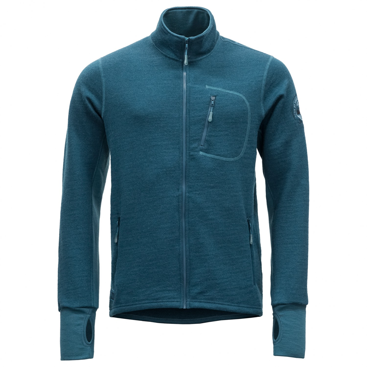 cheap for discount 33841 fc9dc Devold - Thermo Jacket - Giacca di lana - Subsea | S