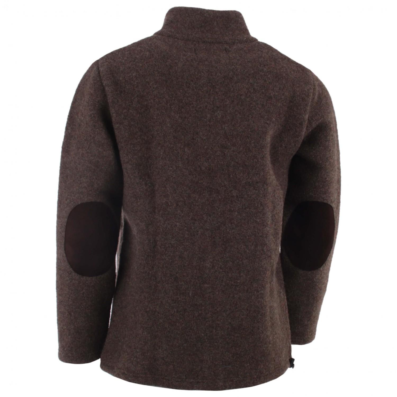 Mufflon Leather Wolljacke Forrest Bärtram BrownS BQerxWodEC