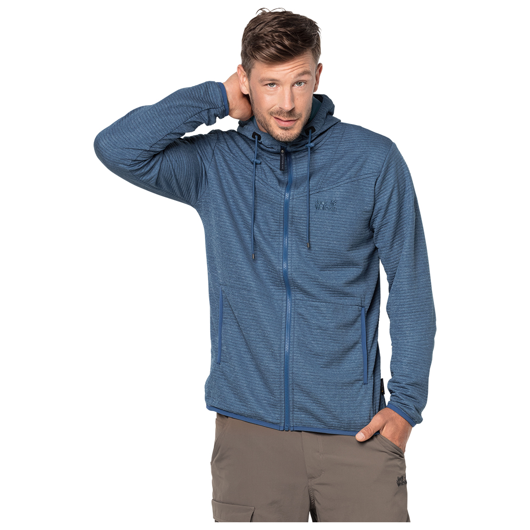 Jack Tongari Jacket Fleece Men's Wolfskin Hooded mOv0Nnw8