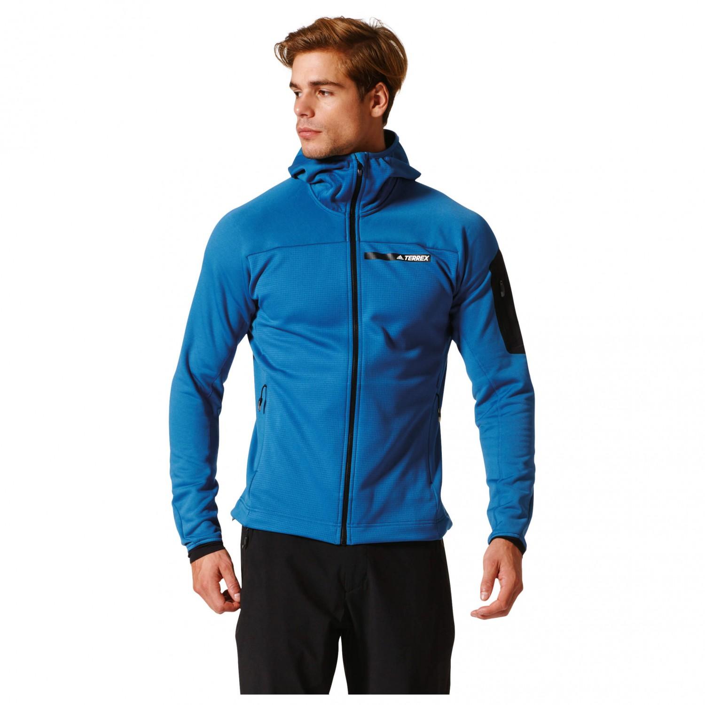 Adidas Terrex Stockhorn Fleece Hooded Jacket Fleecejacke  Schlussverkauf