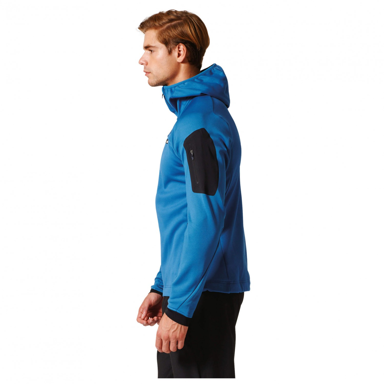 7315d3098152e Adidas Terrex Stockhorn Fleece Hooded Jacket - Veste polaire Homme ...