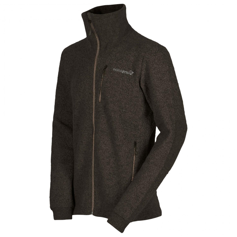 5b4d0105fd59 ... Norrøna - Svalbard Wool Jacket - Fleece jacket ...