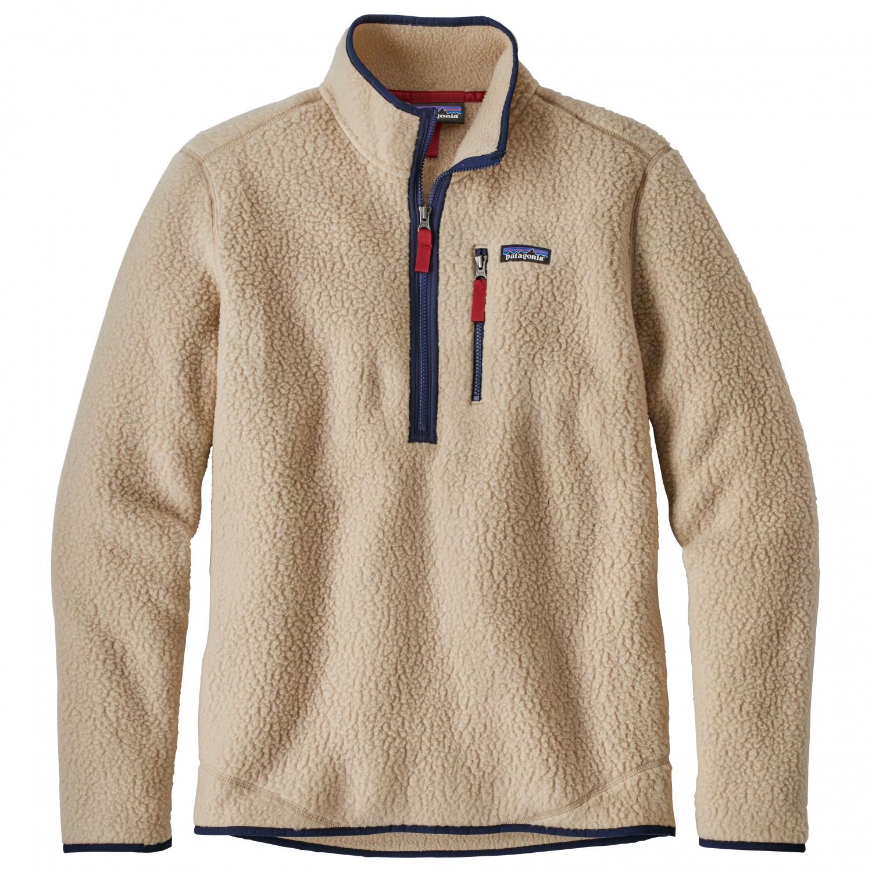 patagonia retro pile pullover fleece jumpers men 39 s free uk delivery. Black Bedroom Furniture Sets. Home Design Ideas