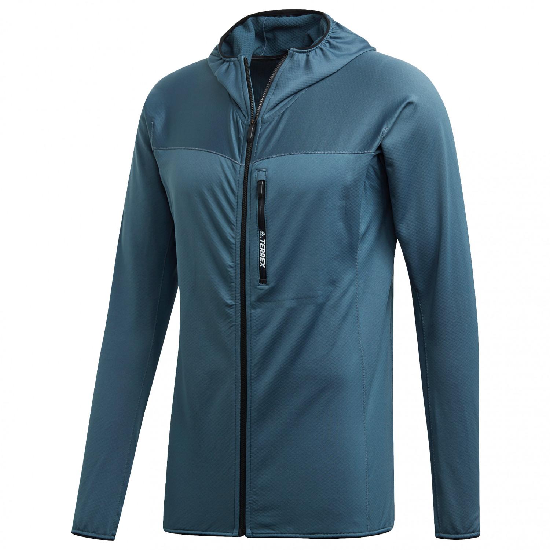 béisbol podar Paja  Adidas Terrex Tracerocker Hooded Fleece - Fleece jacket Men's ...