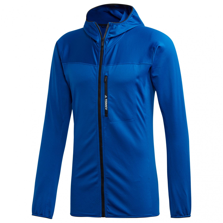 Aprendizaje Hacer la vida Inodoro  Adidas Terrex Tracerocker Hooded Fleece - Fleece jacket Men's | Buy online  | Bergfreunde.eu
