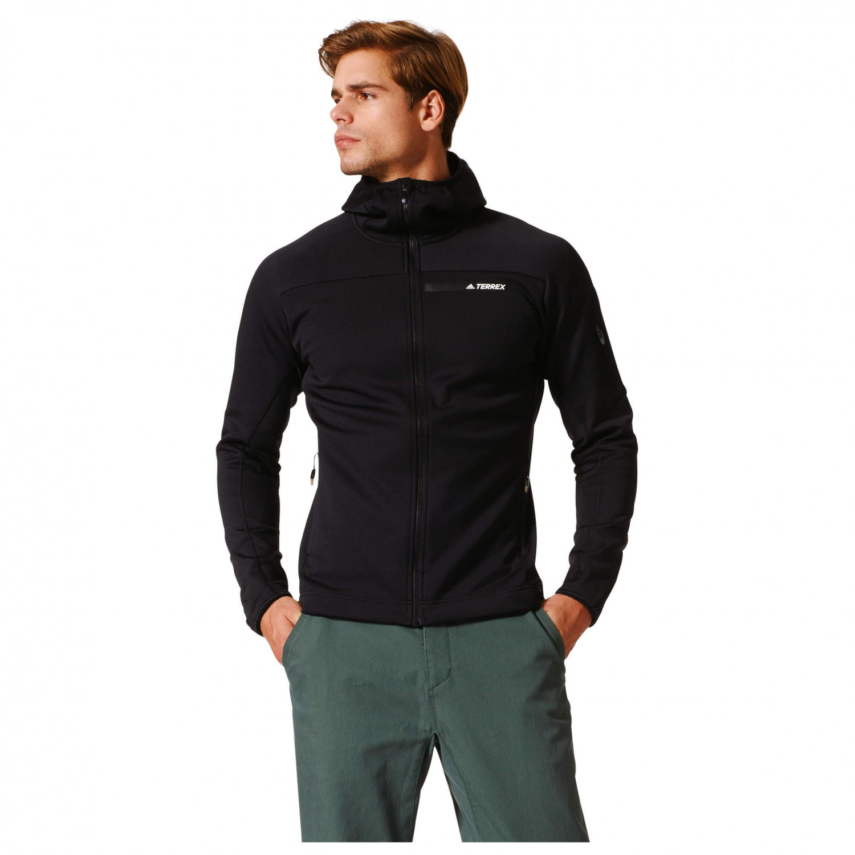 6bcd45da046f4 Adidas Terrex Stockhorn Fleece Hooded Jacket - Forro polar Hombre ...