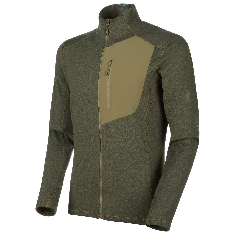 online store eb0a4 3605a Mammut - Aconcagua Light ML Jacket - Fleece jacket - Poseidon Melange   S