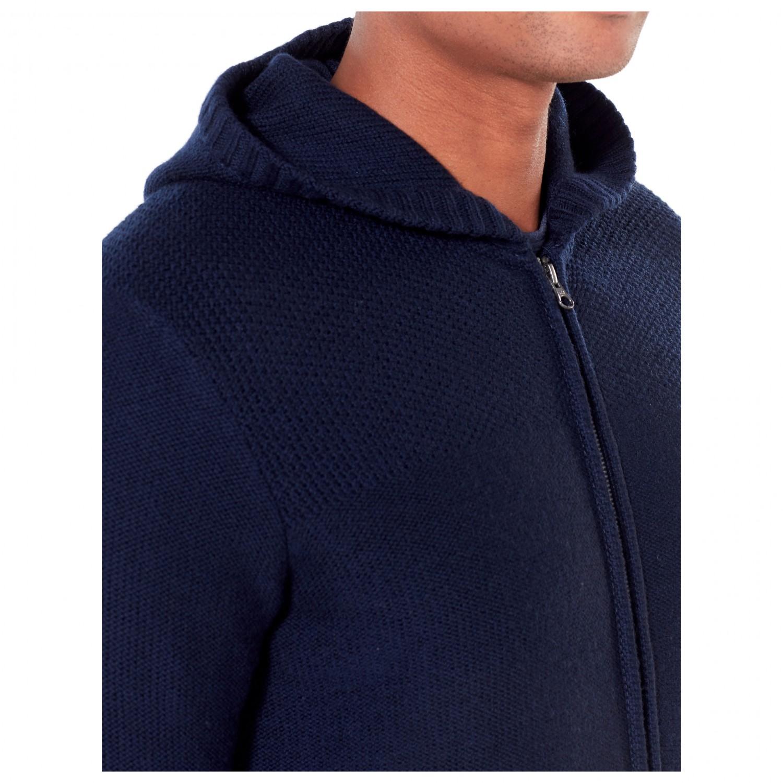 07488108cc9b1 Icebreaker Waypoint L/S Zip Hood Sweater - Wool Jacket Men's | Buy ...