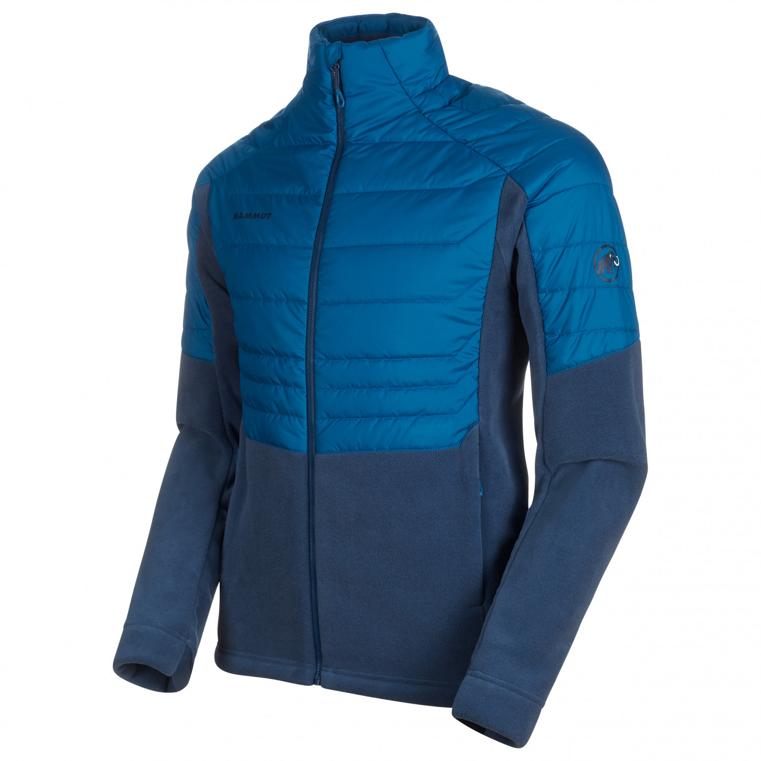 check out 79a9a 85580 Mammut - Innominata ML Hybrid Jacket - Fleecejacke - black | S