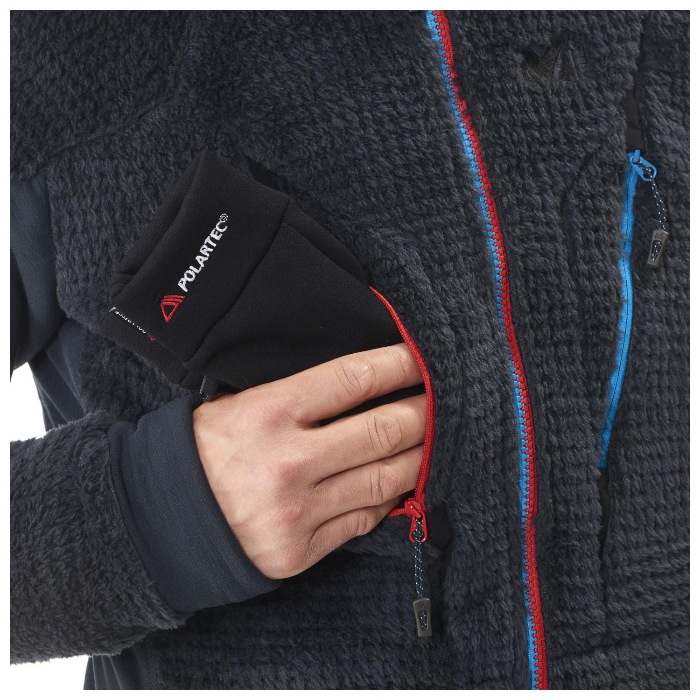 sale retailer 60712 d5b67 Millet - Trilogy X Wool Jacket - Fleece jacket - Indian / Saphir   S