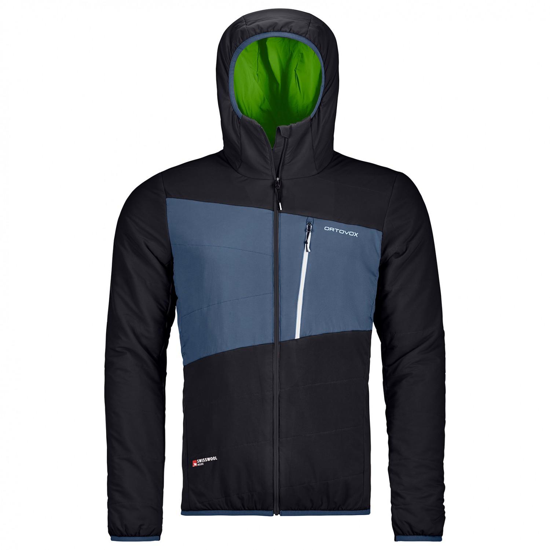 Wollen Winterjas Heren.Ortovox Swisswool Zebru Jacket Wollen Jack Heren Gratis