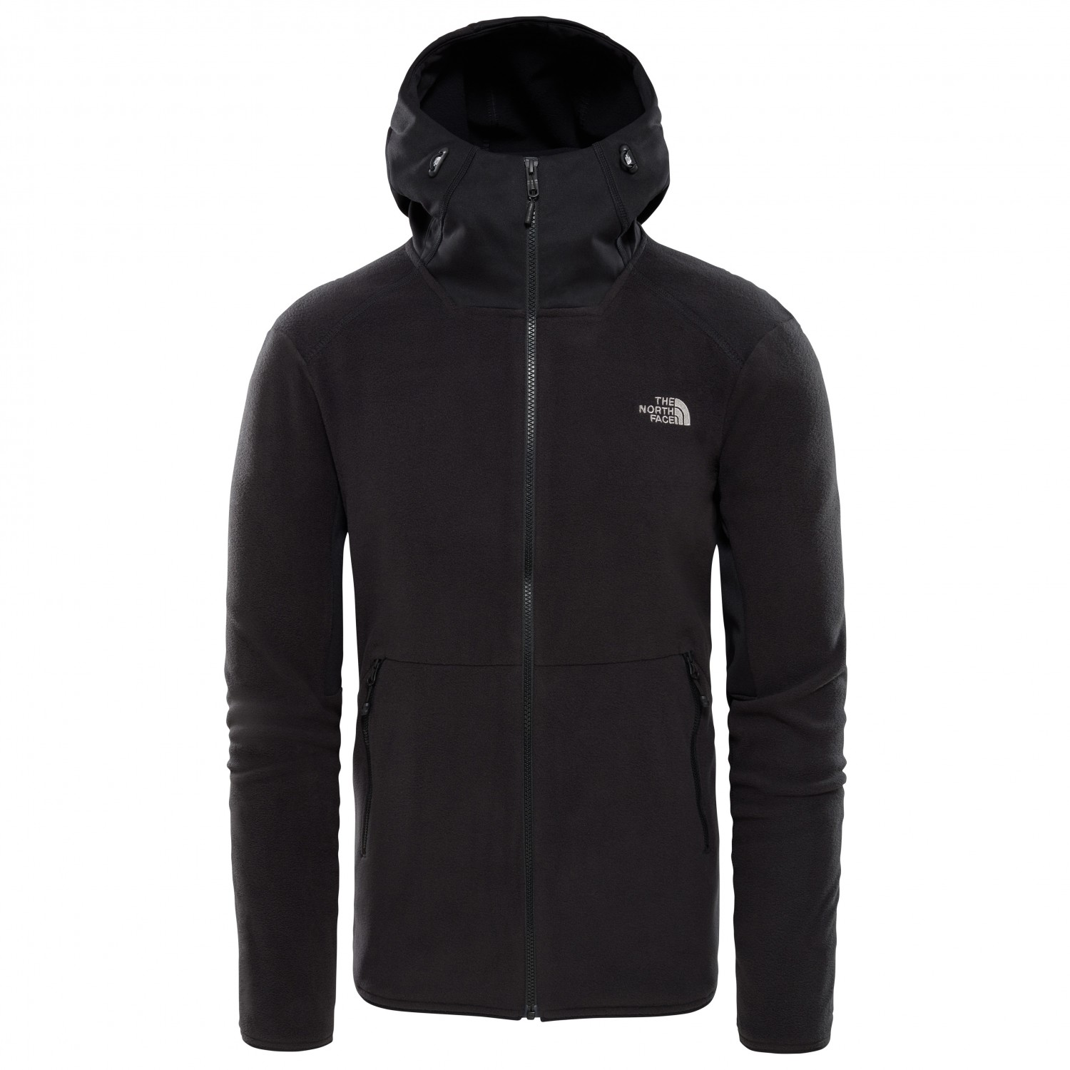 The North Face Kabru FZ Hoodie Veste polaire New Taupe Green TNF Black | S