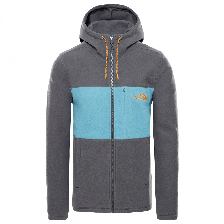 420f9fe40 The North Face - Blocked Fullzip Hoodie - Fleece jacket - Night Green /  British Khaki   S