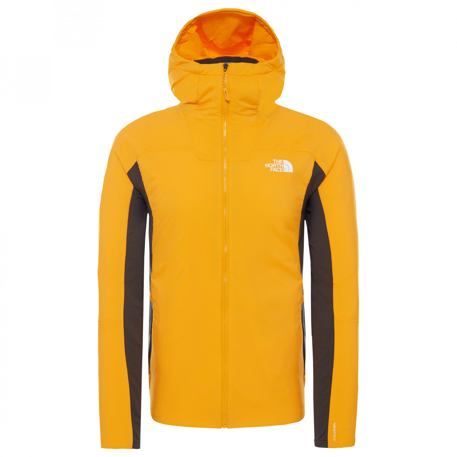 d06e6ec87 The North Face - Ventrix Hybrid Jacket - Fleece jacket - Zinnia Orange /  Asphalt Gry | M