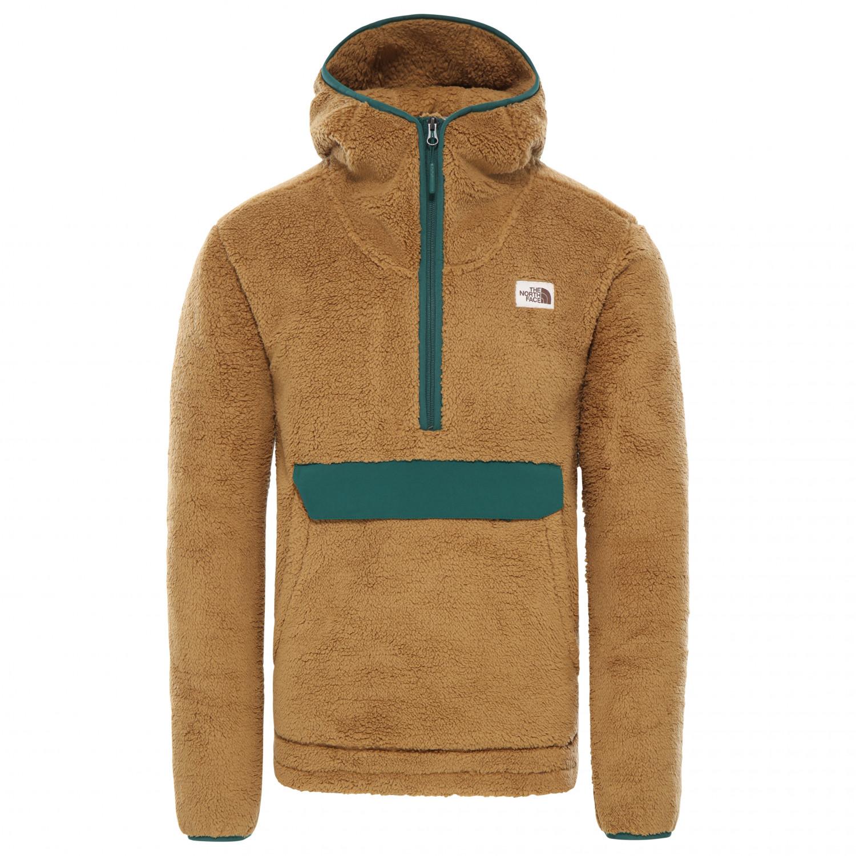 promo code c278c 9948e The North Face - Campshire Pullover Hoodie - Fleecepullover - British Khaki  / Night Green | S
