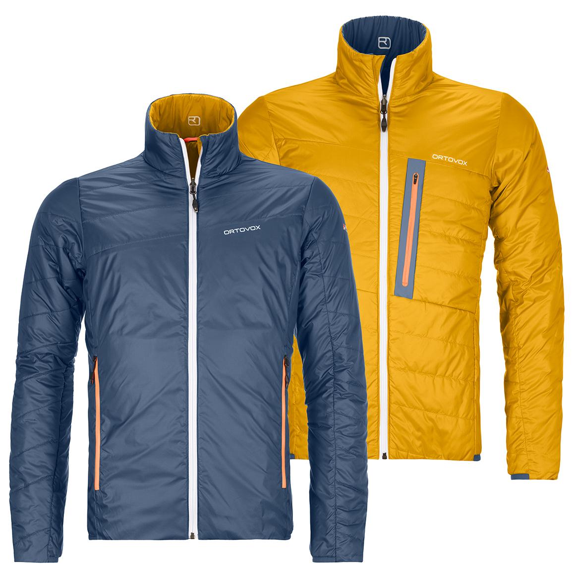 Ortovox Swisswool Piz Boval Jacket Wolljacke Herren