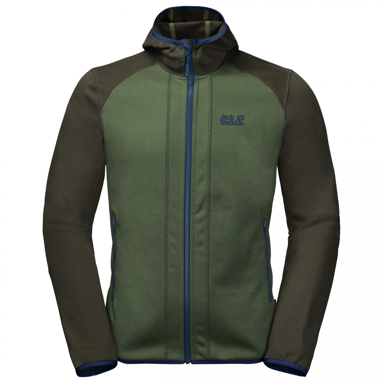 wie kommt man für die ganze Familie online zum Verkauf Jack Wolfskin - Hydro Hooded Jacket - Fleecejacke - Ebony | S