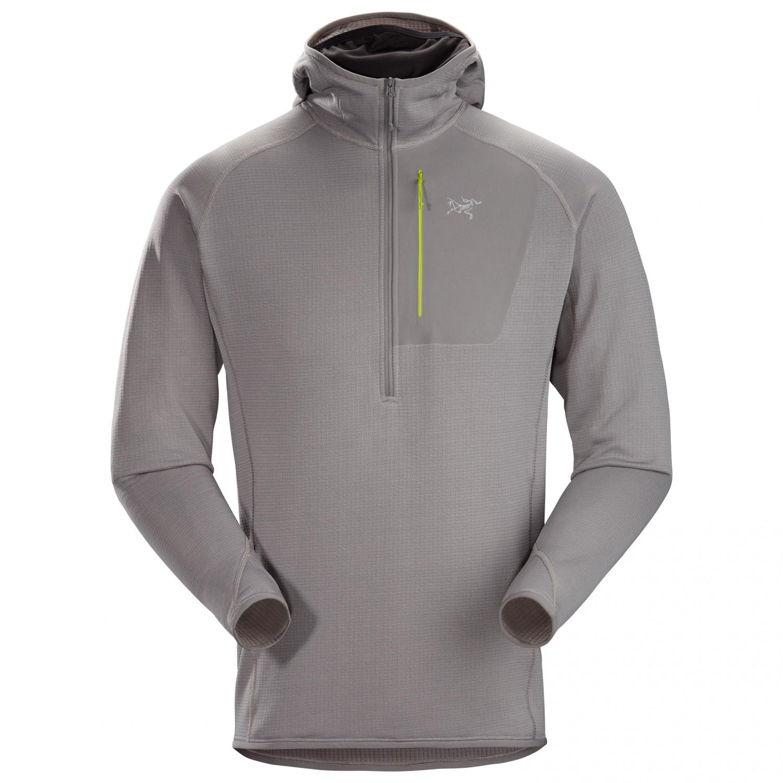 Arc'teryx Delta MX Halfzip Hoody Fleece jumper Black   S