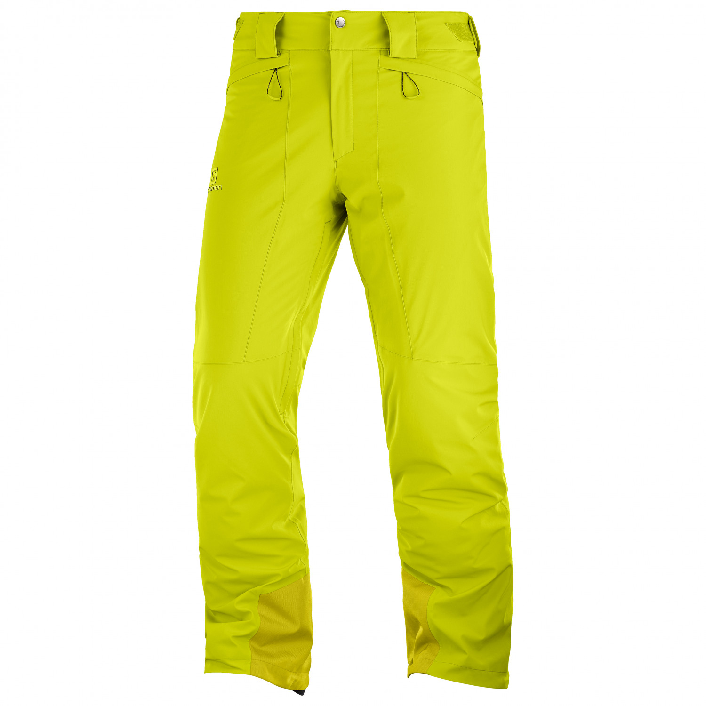 Salomon Icemania Pant Pantalon de ski Citronell | XL Regular