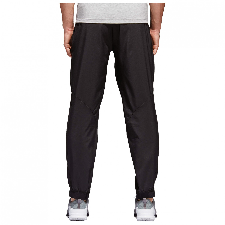 Details about Adidas T19 Team Wear WOMEN'S TRACKSUIT PANTS Black Blue Gym Trousers Climacool