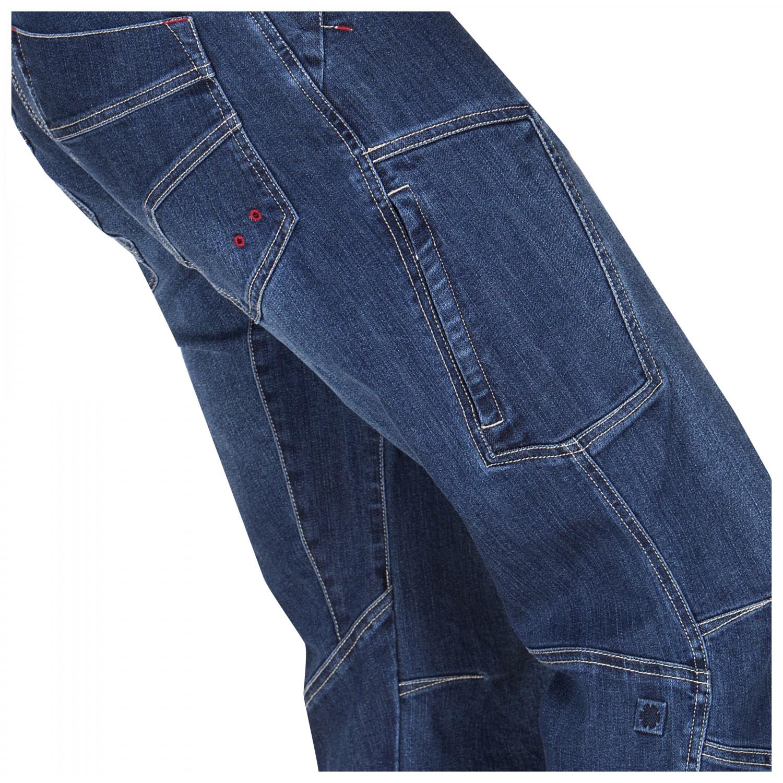Bergsteigen & Klettern Bekleidung Ocùn Ravage Jeans men dark blue