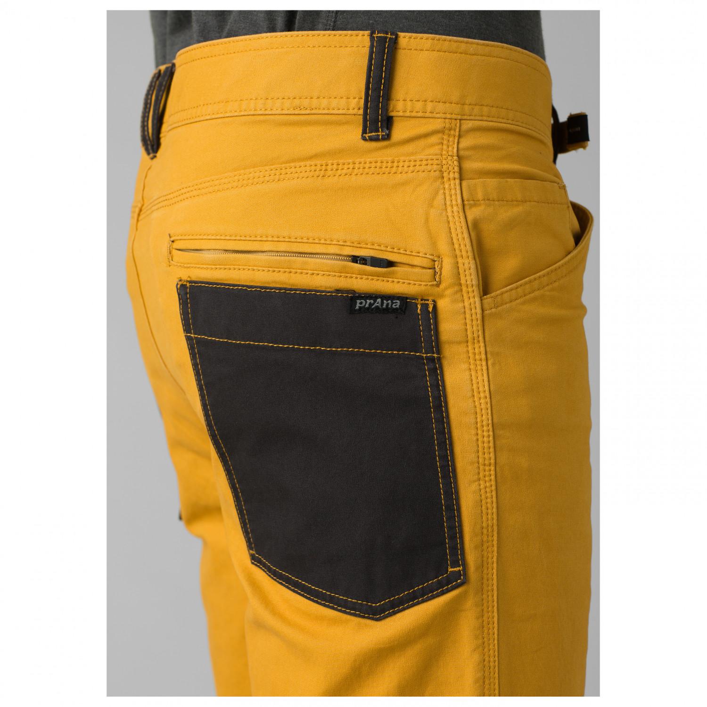 Color Dorado Pantalones de Escalada para Hombre Prana Goldrush
