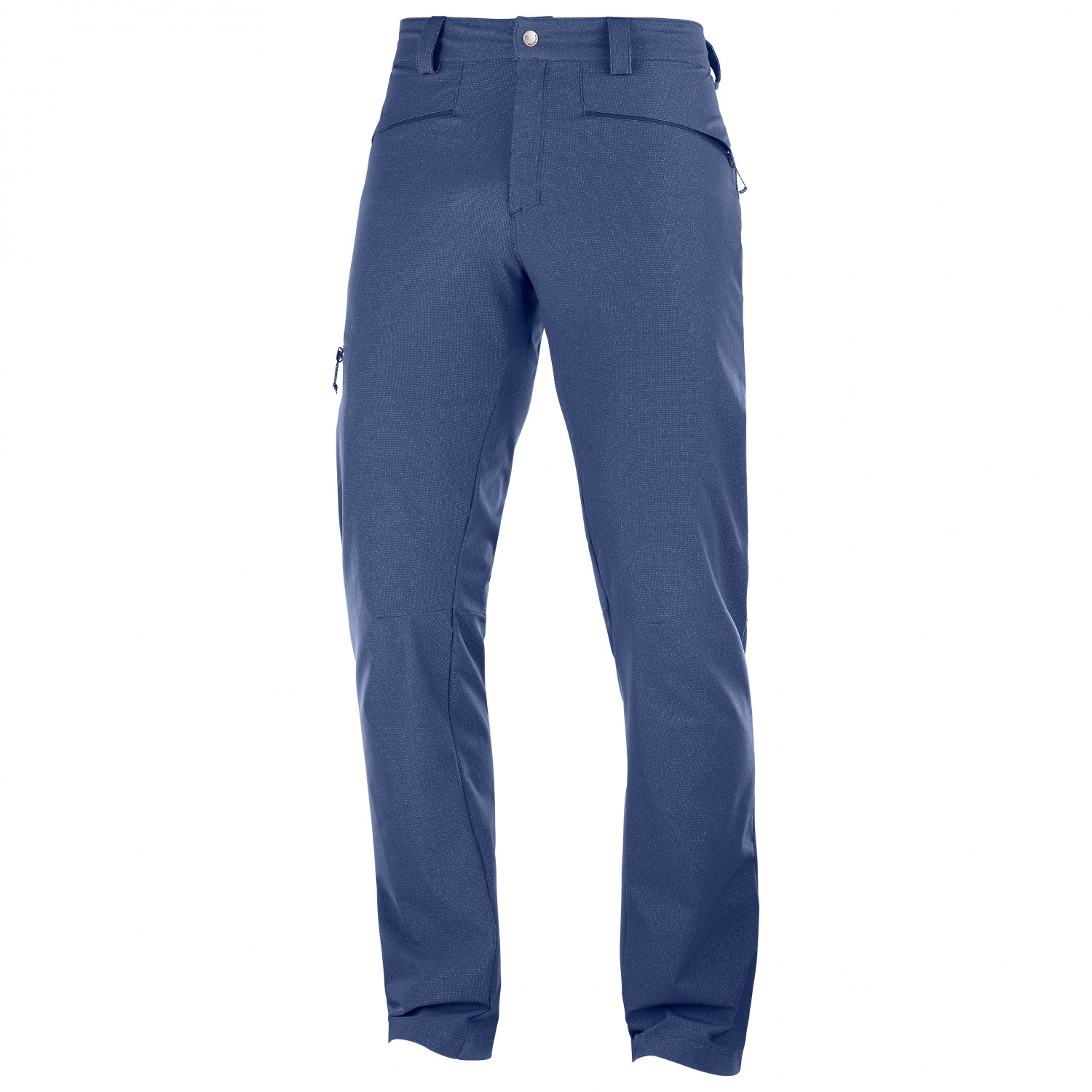 Navy Salomon Wayfarer Mens Walking Pants