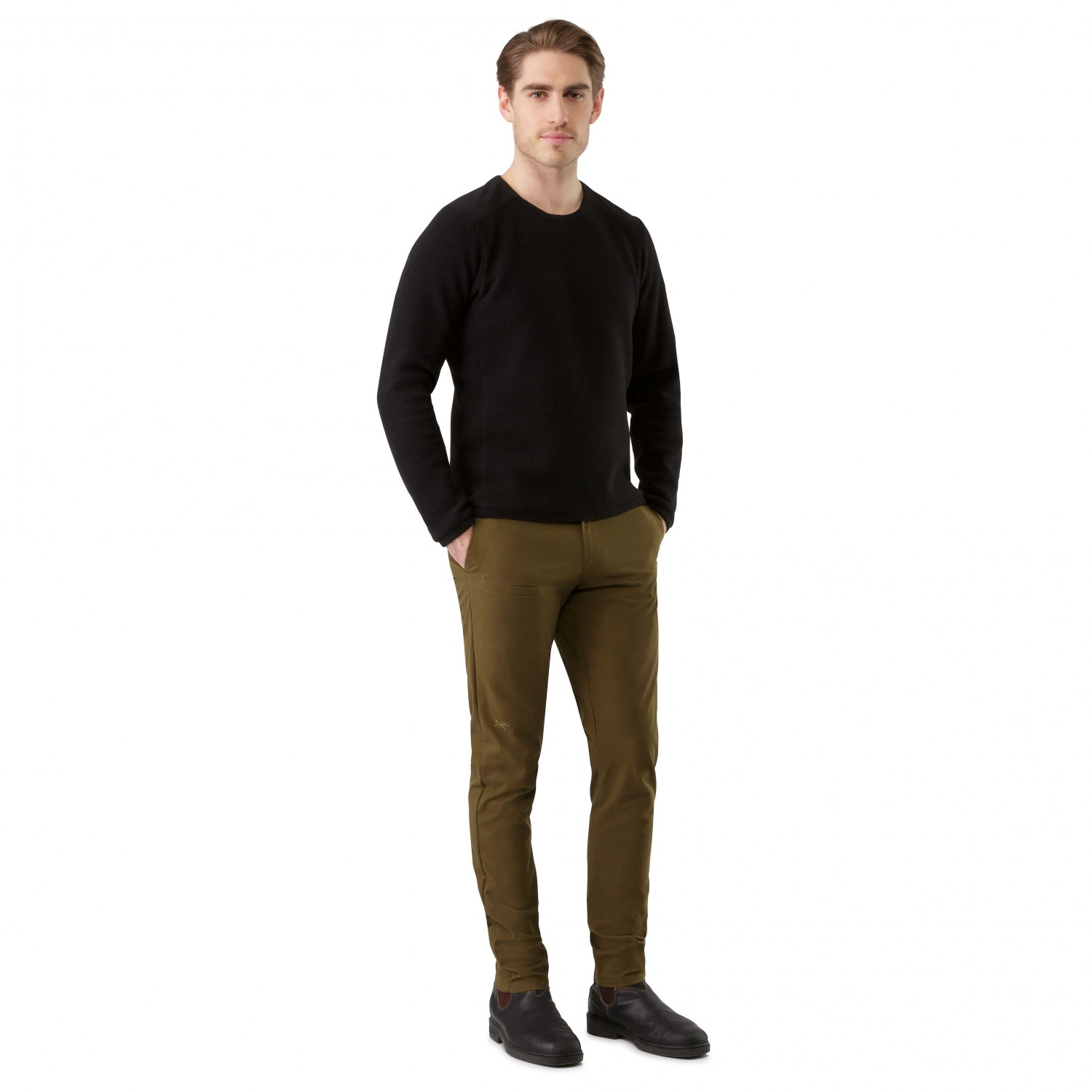 abbott men A superb men's crew neck t-shirt, the abbot is manufactured in supersoft heavy cotton fabric for exceptional comfort a chest pocket, signature heavy back neck tape, hem side splits and a small mountain embroidery all add to the.
