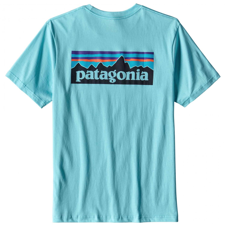 Patagonia P 6 Logo Cotton Pocket T Shirt T Shirt Men 39 S