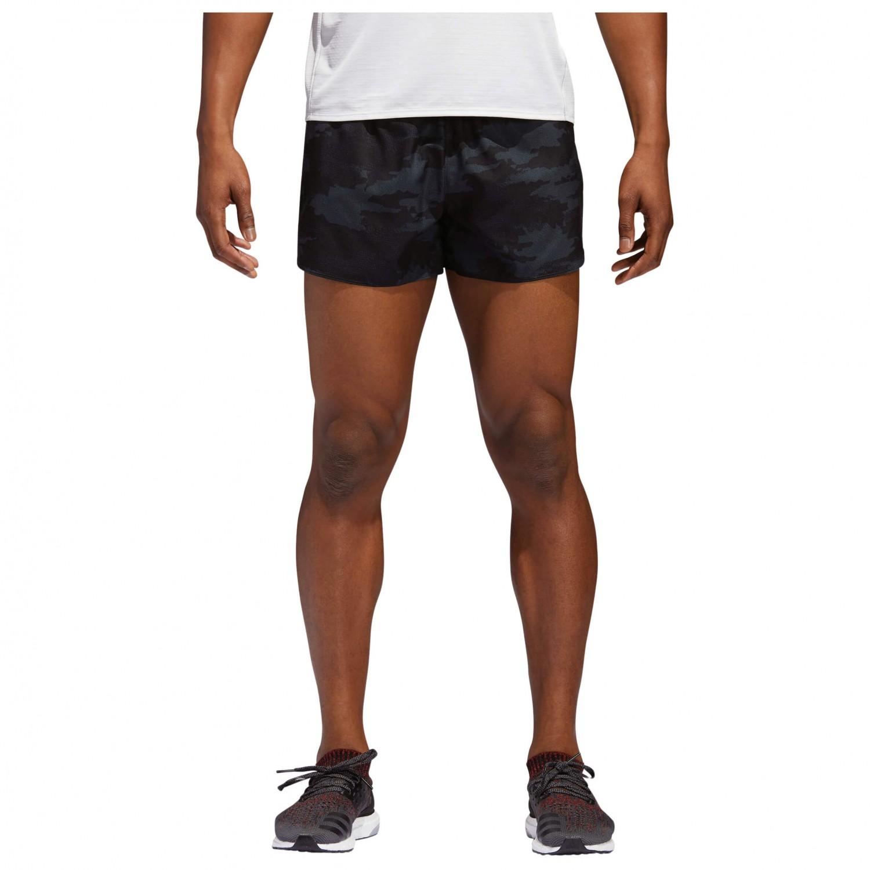 Adidas Risposta Split Corsa Breve I Pantaloncini Da Corsa Split Uomini Comprare Online 0b7135