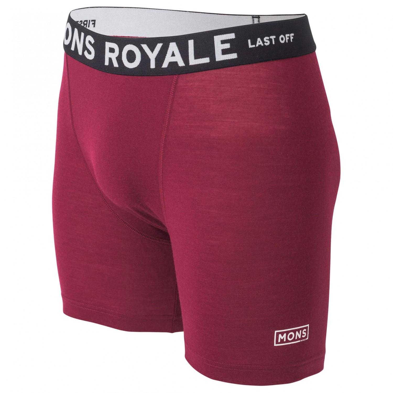 bfb021781 Mons Royale Hold 'em Boxer Box Logo - Merino Base Layer Men's   Buy ...