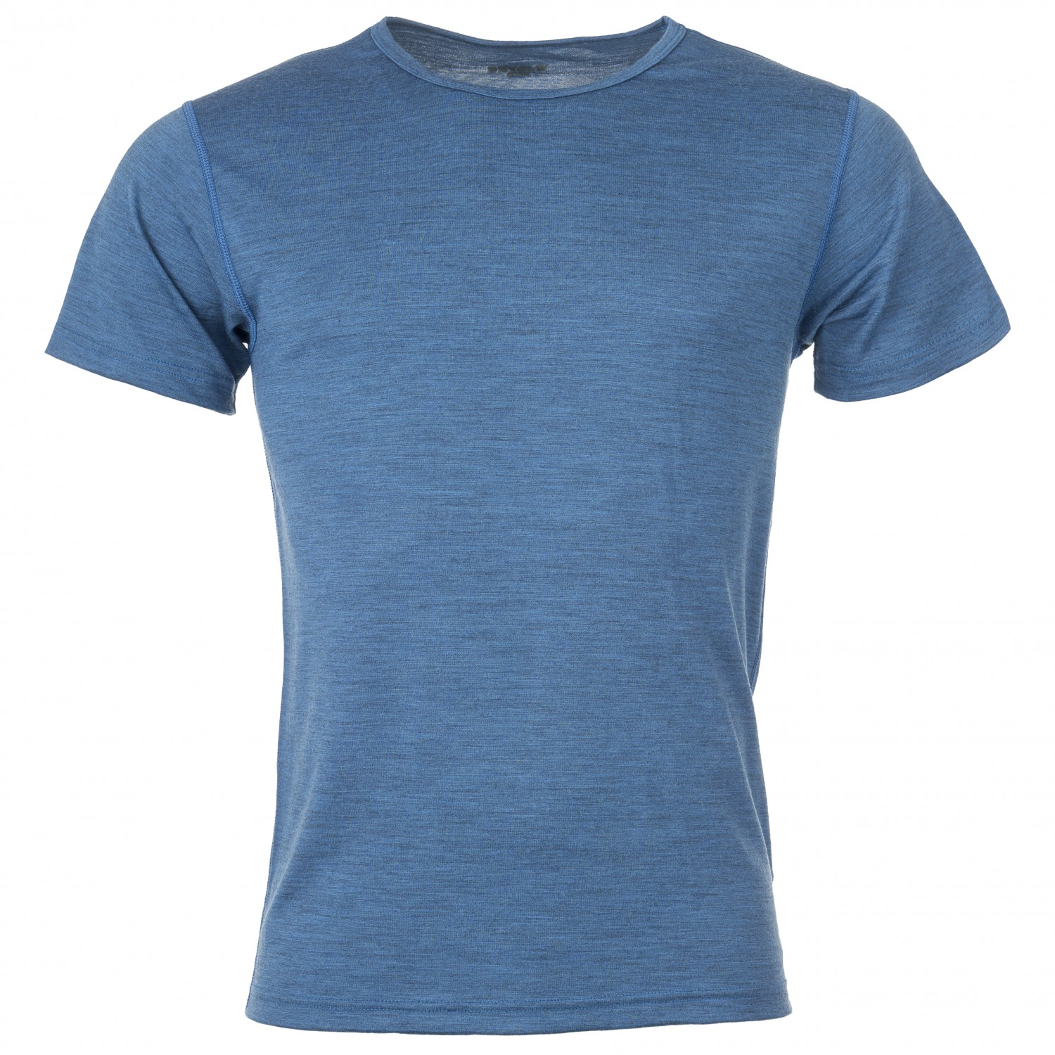 Devold Breeze T Shirt Merino undertøj Blue Melange | XL