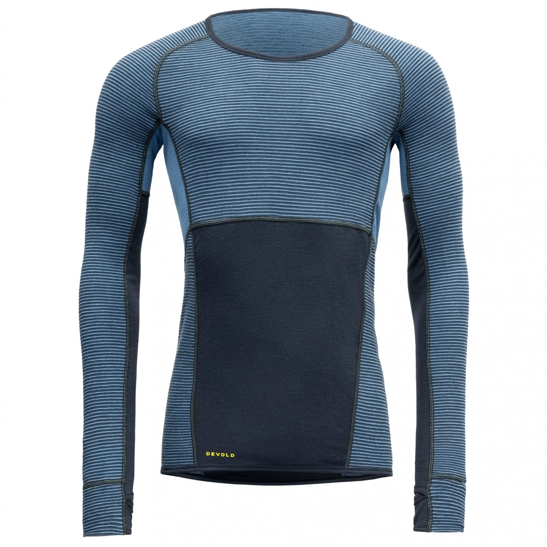 invaincu x magasin meilleurs vendeurs nouvelle collection Devold - Tuvegga Sport Air Shirt - Sous-vêtement mérinos - Night | S