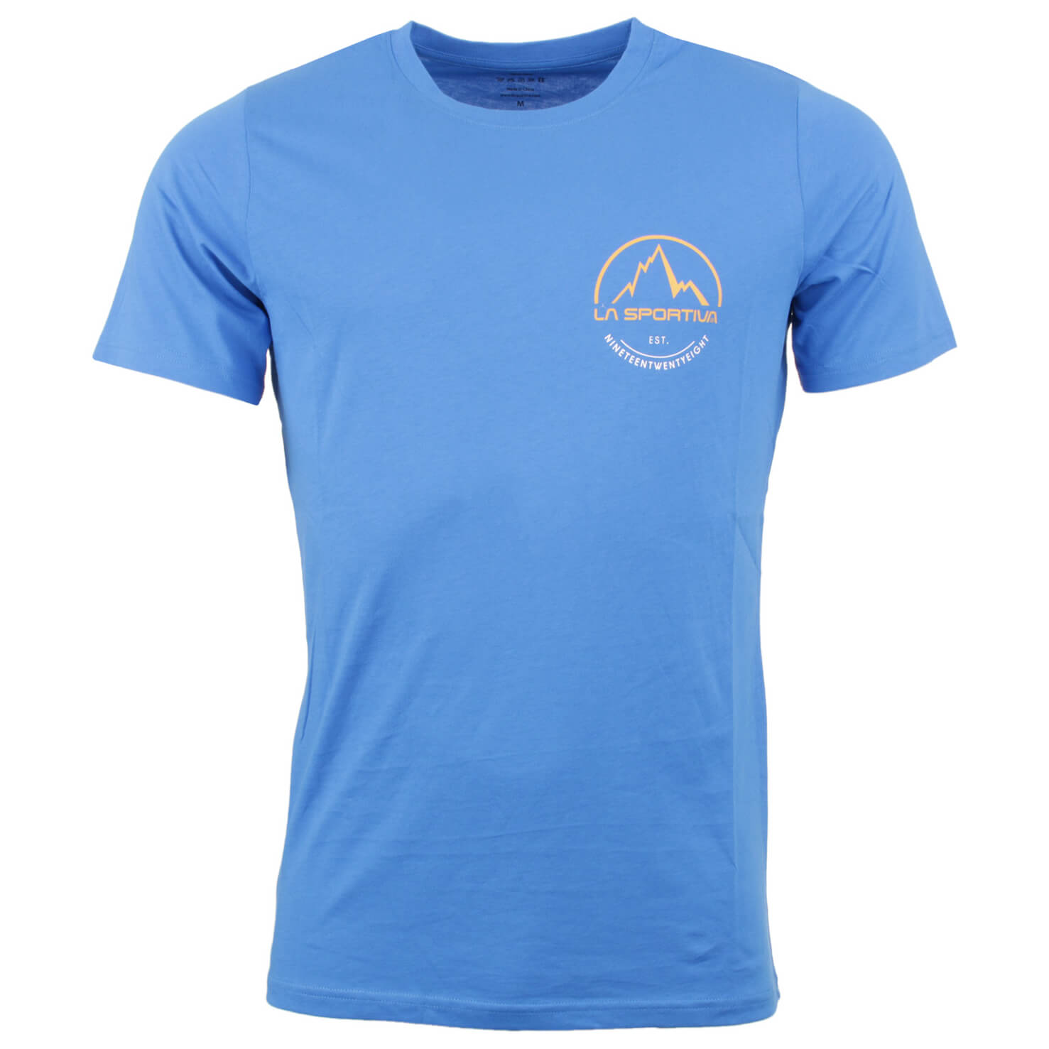 La sportiva small logo tee t shirt men 39 s buy online for Shirts with small logos