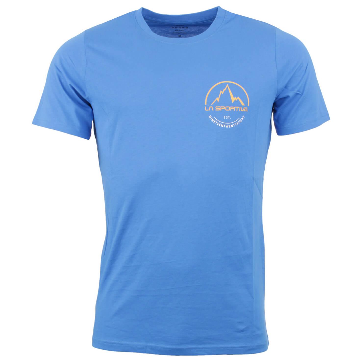 La sportiva small logo tee t shirt men 39 s buy online for Logo t shirts online