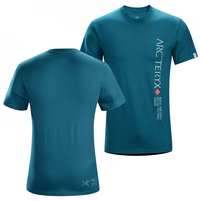 Arc 39 Teryx Vertical Word S S Crew T Shirt Herren Online