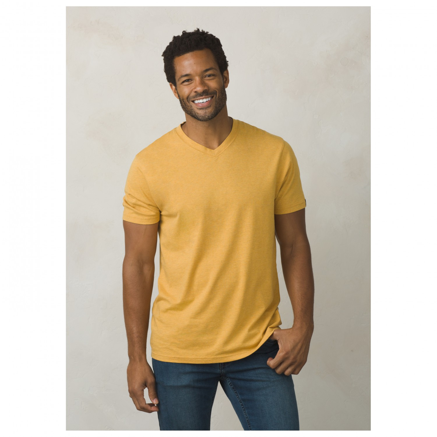 prana prana v neck slim fit t shirt men 39 s buy online. Black Bedroom Furniture Sets. Home Design Ideas