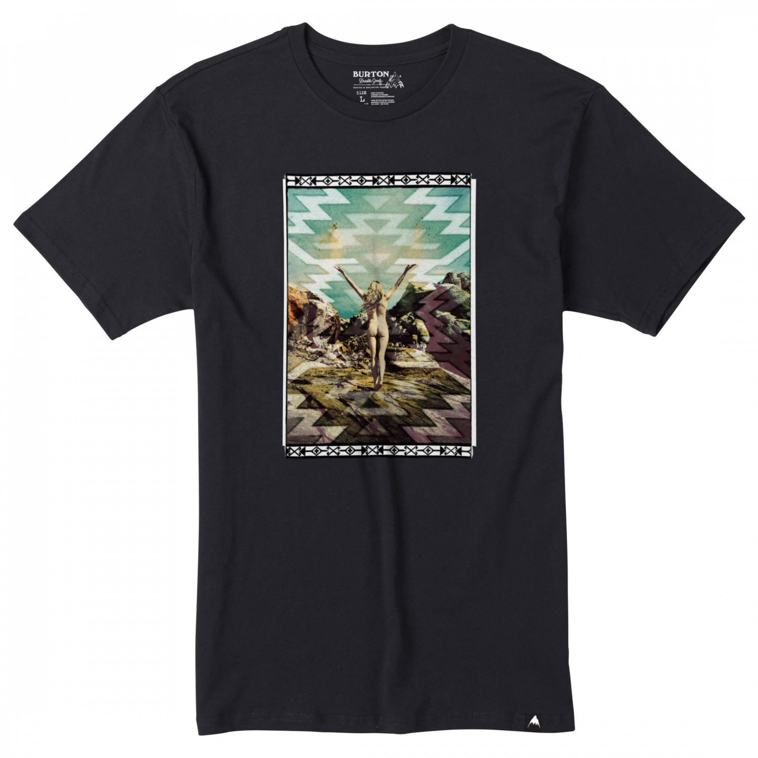 Burton the great outdoors s s tee t shirt men 39 s buy The great t shirt