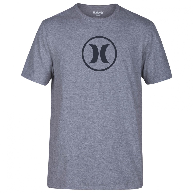 Hurley circle icon dri fit t shirt men 39 s buy online for Dri fit t shirt design