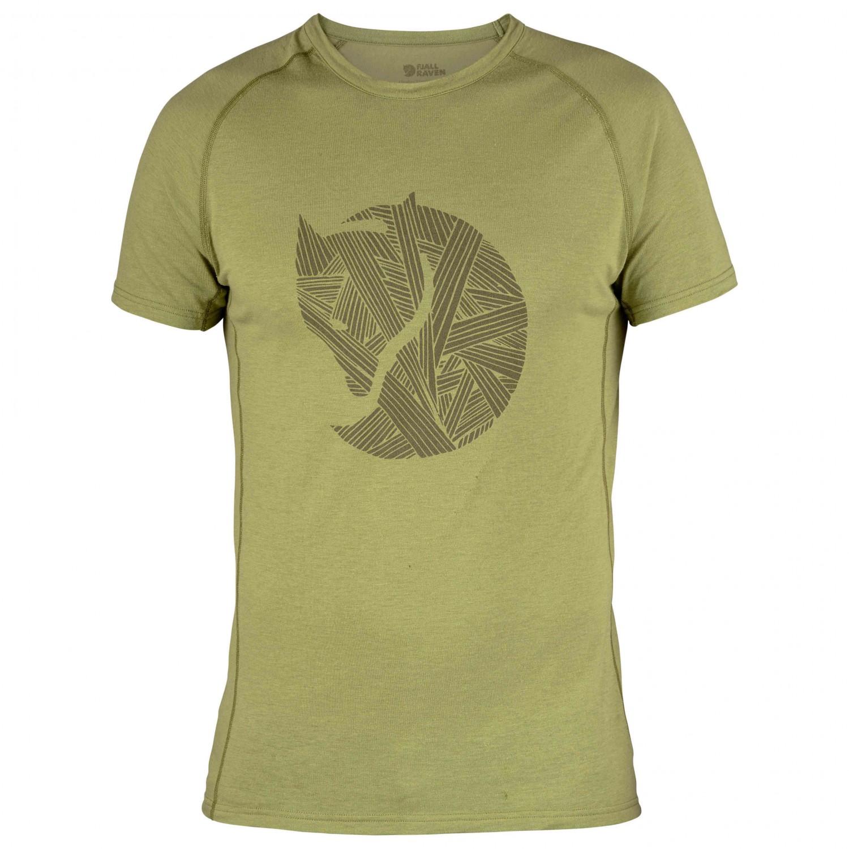 FJ/ÄLLR/ÄVEN Mens Abisko Trail Print T-Shirt