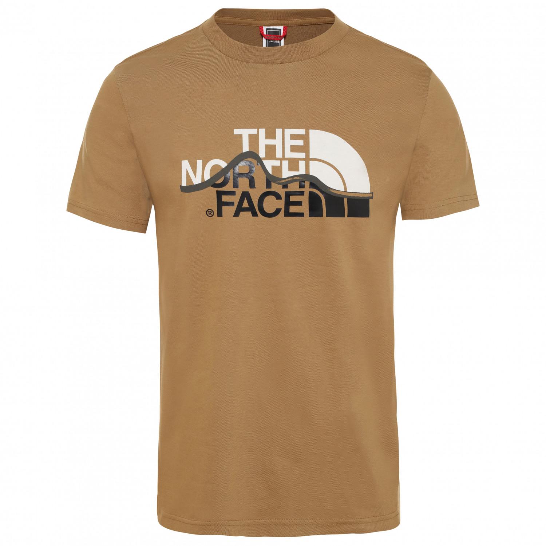 tout neuf 7da20 bb617 The North Face - S/S Mountain Line Tee - T-shirt - TNF Black | S