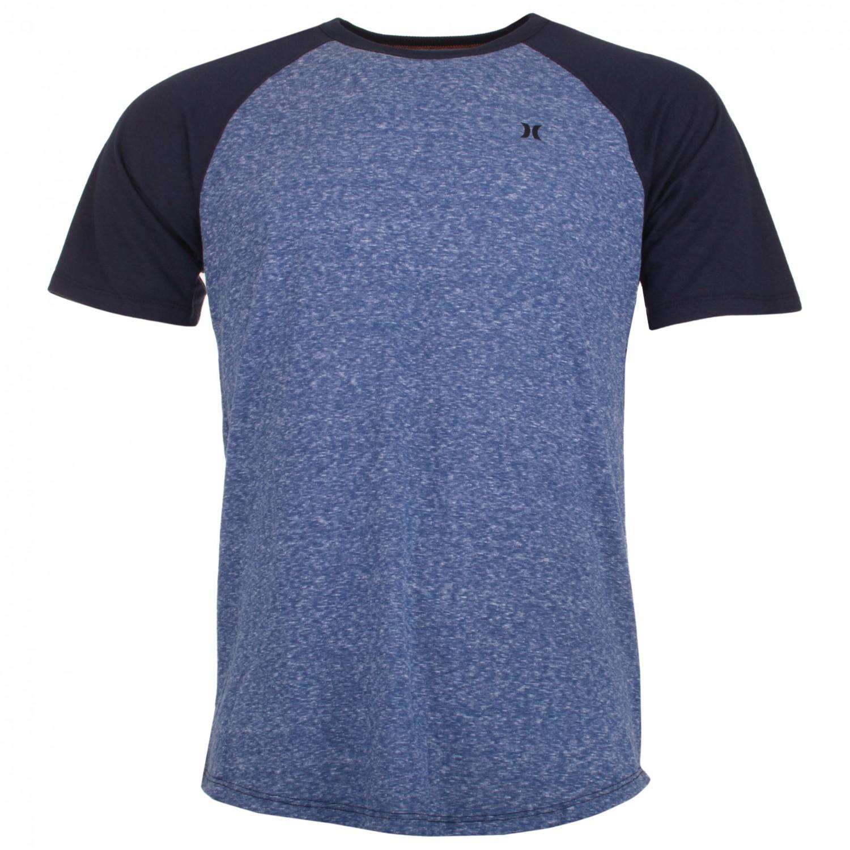 hurley still classic raglan t shirt homme achat en ligne. Black Bedroom Furniture Sets. Home Design Ideas