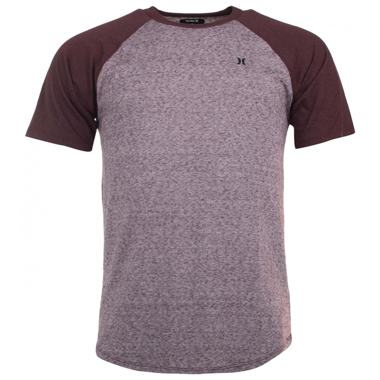 Hurley Still Classic Raglan T Shirt Mens Buy Online