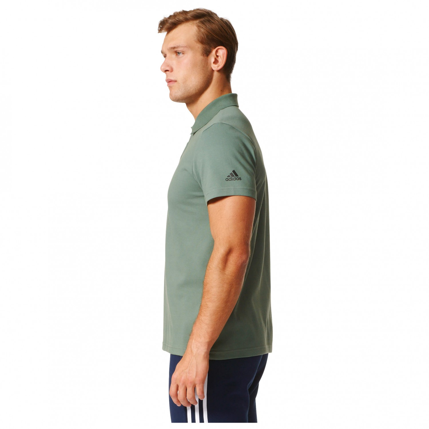 adidas polo weiss