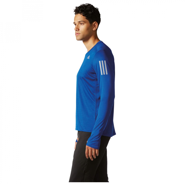 85ba318e Adidas Response Long Sleeve Tee - Running Shirt Men's | Buy online ...