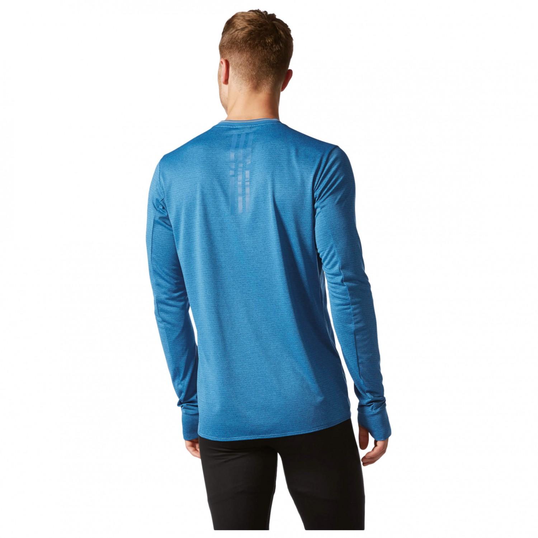 Adidas supernova long sleeve tee running shirt men 39 s for Online tee shirt companies