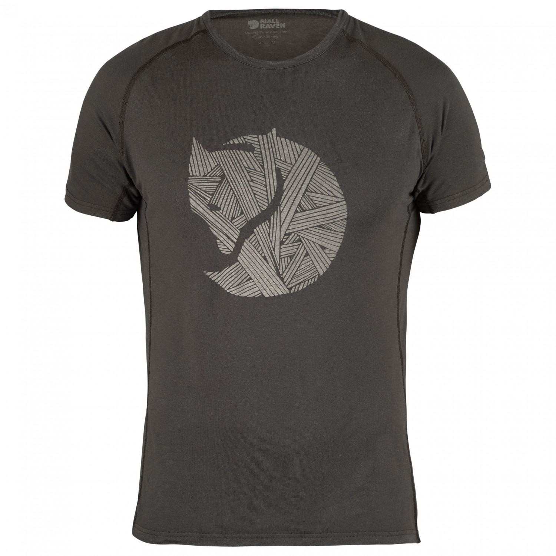 Fj llr ven abisko trail t shirt logo print t shirt for Logo printed t shirts