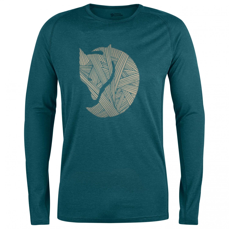 f6ae67be4 Fjällräven Abisko Trail T-Shirt Print L/S - Longsleeve Herre køb online ...