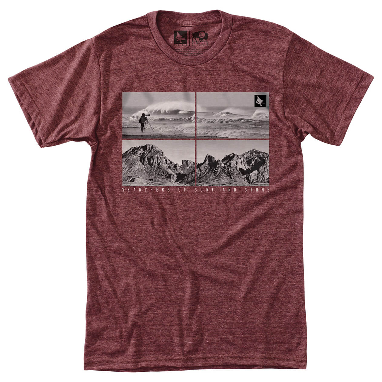 Hippy tree quadrant tee t shirt homme achat en ligne for Hippie t shirts australia